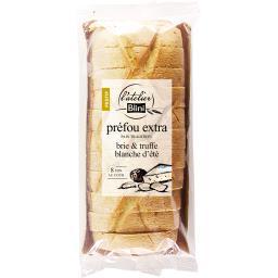 Blini L'Atelier  Préfou extra brie & truffe blanche d'été la barquette de 190 g