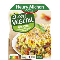 Côté Végétal - Gratin légumes mozzarella & boulgour