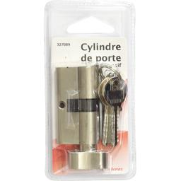 Cylindre de porte laiton massif 60mm