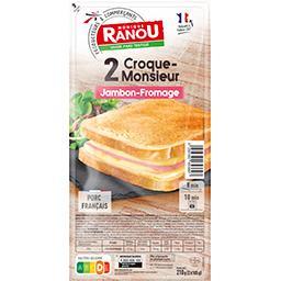 Croque-monsieur jambon fromage