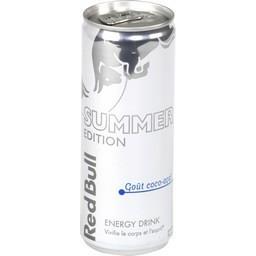 Energy Drink Summer Edition goût coco-açaï