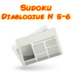 Sudoku diabolic niveau 5/6