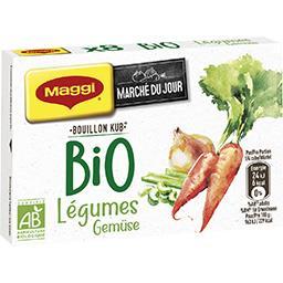 Maggi Marché du Jour - Bouillon Kub légumes BIO