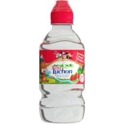 Boisson à l'eau minérale naturelle saveur fraise