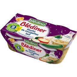 Blédîner - Risotto de courgettes lait, dès 8 mois