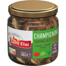 Champignons cuisinés à l'italienne