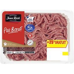 Jean Rozé Viande hachée 5% la barquette de 625 g