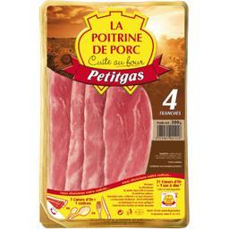 La Poitrine de porc cuite au four