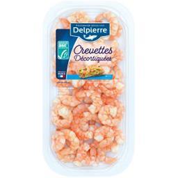 Crevettes déjà décortiquées