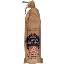 Roches Blanches Saucisson sec de campagne pur porc Label Rouge le saucisson de 200 g