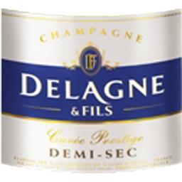 Champagne demi-sec, cuvée Prestige