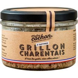 Grillon charentais, les p'tites marmites, 180gr, bocal, Sodiporc