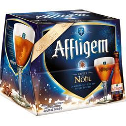 Bière ambrée aromatisée cannelle