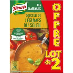 Soleil Knorr Soupe Douceur de Légumes du