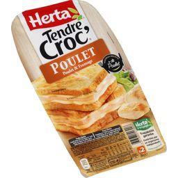Tendre Croc' - Croque-monsieur poulet & fromage