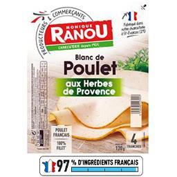 Blanc de poulet aux herbes de Provence