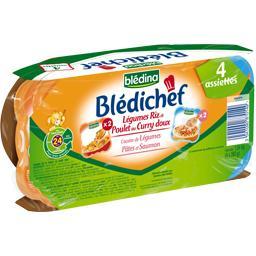 Blédichef - Assortiment de plats bébés, dès 24 mois