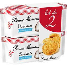 Biscuits Croquants noix de coco