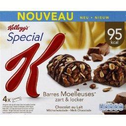 Special K - Barres Moelleuses chocolat au lait