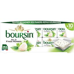Boursin Fromage portion ail & fines herbes