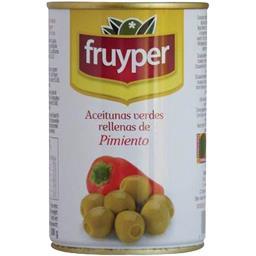 Olives farcies à la pâte de poivron