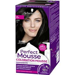 Perfect Mousse - Coloration noir 200