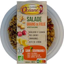 Salade Grains de Folie végétarienne BIO