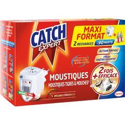 Catch Expert - Diffuseur électrique moustiques & mouches le diffuseur + 2 recharges 18 ml