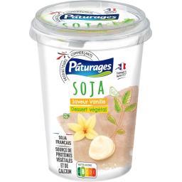 Dessert végétal soja saveur vanille