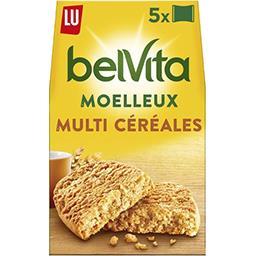 Belvita Petit Déjeuner - Biscuits Le Moelleux nature