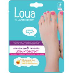 Masque pieds en tissu Ideal Flash ultra hydratant