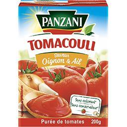 Tomacouli - Purée de tomates oignon et ail