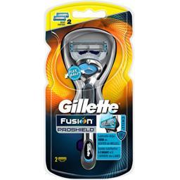 Gillette Rasoir Fusion Proschield le rasoir + 2 recharges