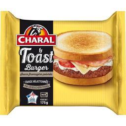 Toast Burger sauce fromagère poivrée