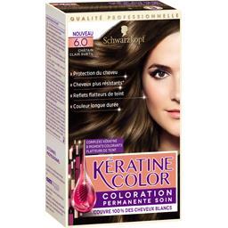 Coloration 6,0 châtain clair subtil - Kératine Color
