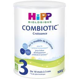 Combiotic Croissance - Lait bébé poudre 3 BIO, 10 m ...