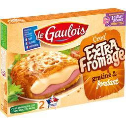 Le Croq' Extra fromage gratiné & fondant