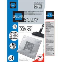 Sacs aspirateurs DOM-27 compatibles Moulinex, Rowent...