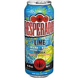 Bière Lime aromatisée Tequila Lemon Cactus