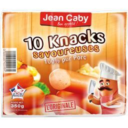 Jean Caby Knack savoureuse le paquet de 10 - 350 g