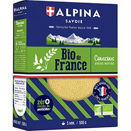 BIO de France - Couscous grains moyens BIO