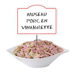 Museau porc EN VINAIGRETTE