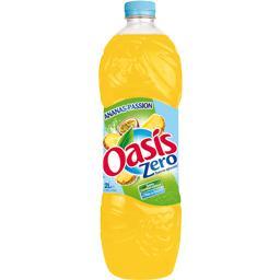 Boisson fruits et eau de source ananas passion zéro sucres