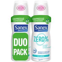Zéro % - Déodorant compressé 24 h 0% parfum