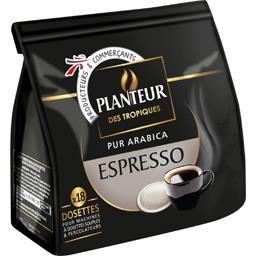 Café dosettes pur arabica Espresso