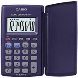 Calculatrice de poche HL 820 VER