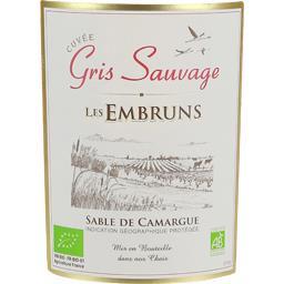 Embruns gris sauvage, vin rosé
