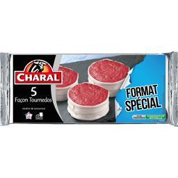 Charal Façon Tournedos la barquette de 5 - 700 g - Format Spécial