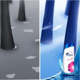 Lisse et soyeux 2 en 1 - shampooing antipelliculaire