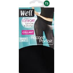 Accord Parfait - Collant opaque T2 noir